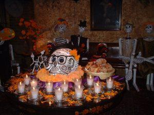 Dia de los muertos en la Ciudad de Mexico - Altar de muerto