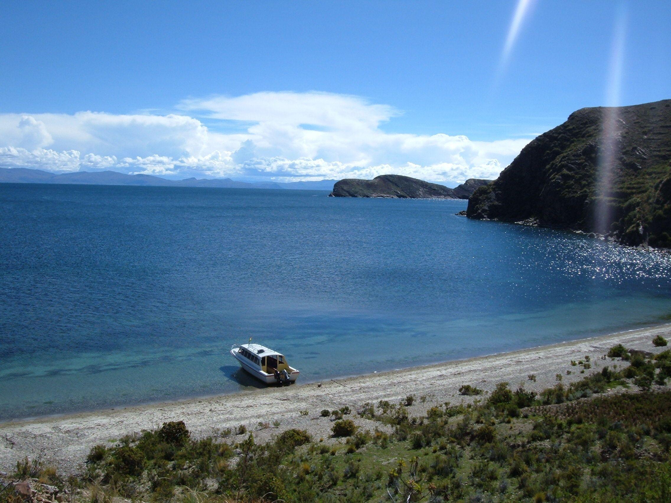 Chinkana, el oido de Dios - Isla del Sol - Lago Titicaca - Bolivia