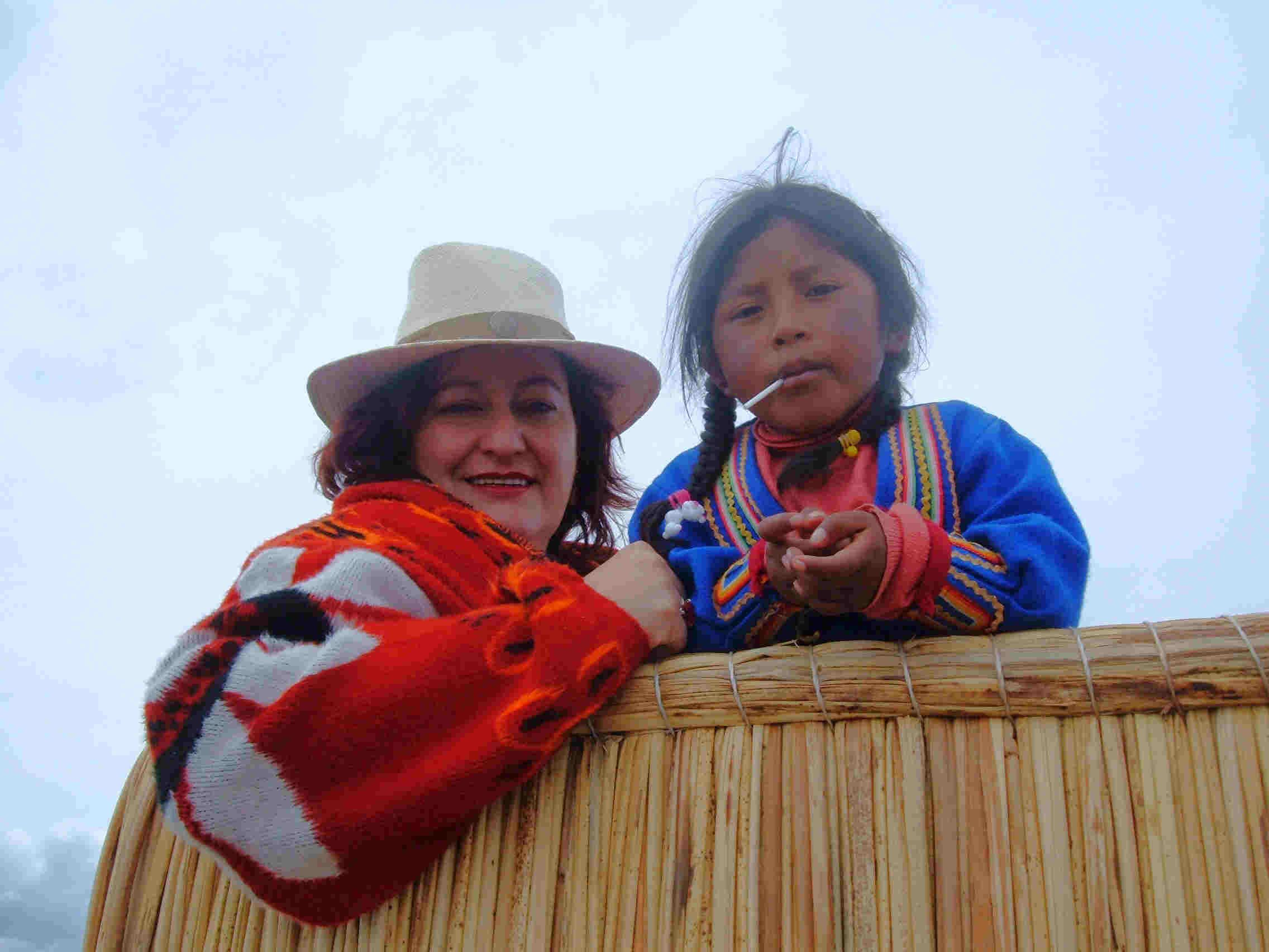 Las islas del Lago Titicaca