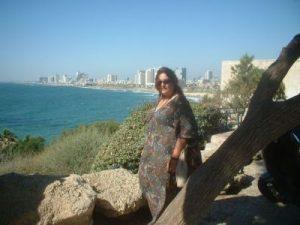 Brinda vista desde Puerto de Haffa en Tel Aviv