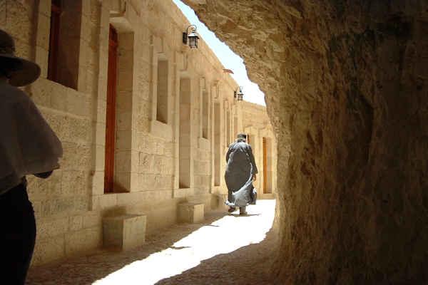 Monte de la tentacion en Jerico - Palestina