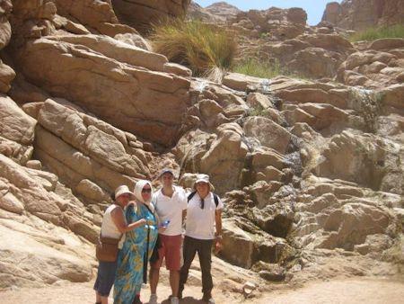 Noche de San Juan en el desierto del Sinai